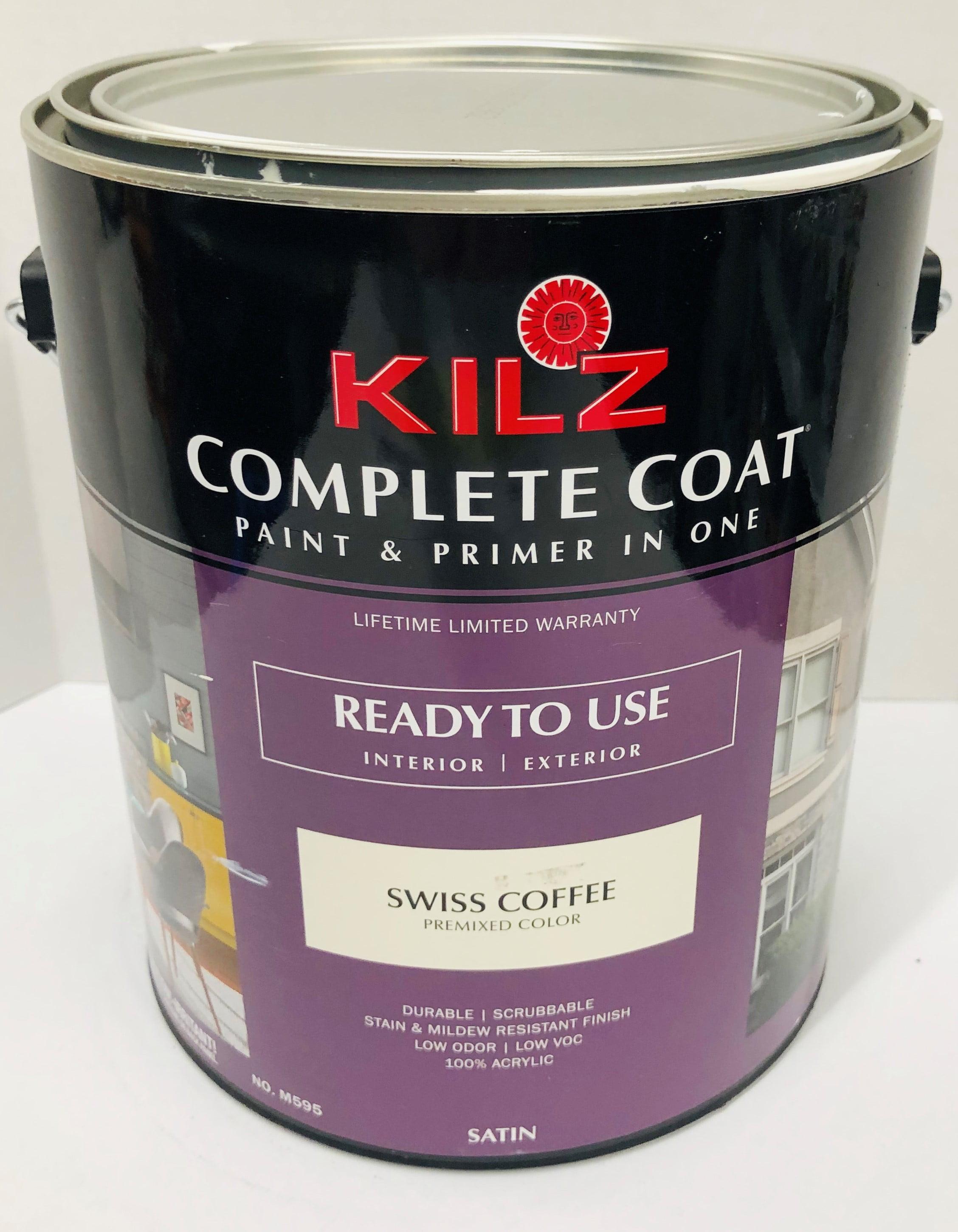 Kilz Complete Coat Swiss Coffee Satin Gl