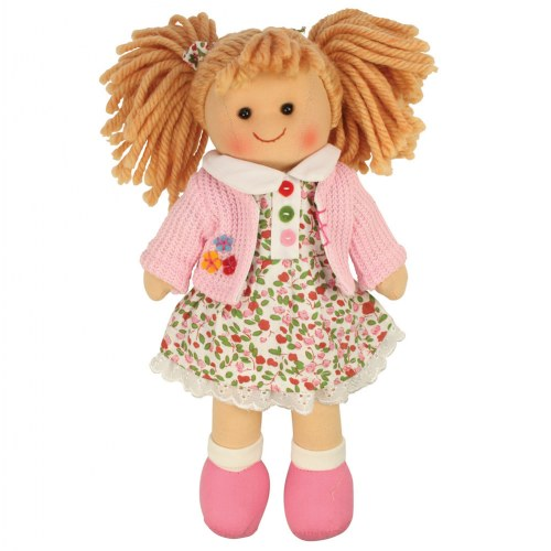 "11"" Bigjigs Soft Doll - Poppy"