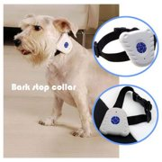 Dog Training Supplies Ultrasonic Dog Anti Bark No Stop Barking Control Collar Train Training Device