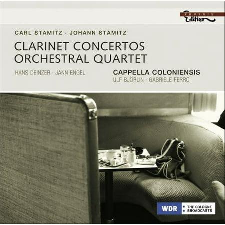 - Clarinet Concertos / Orchestral Quartet