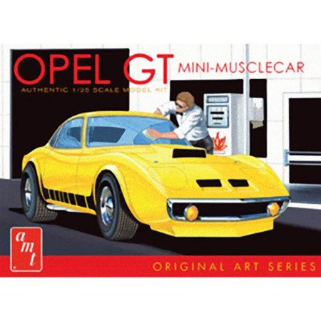 1/25 Buick Opel GT, Original Art Series White