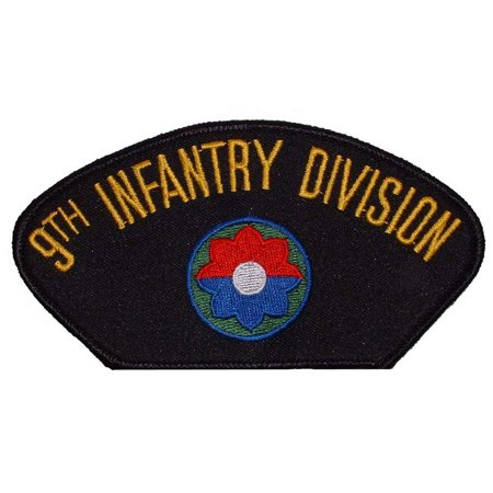 U.S. Army 9th Infantry Division Hat Patch 2 3/4