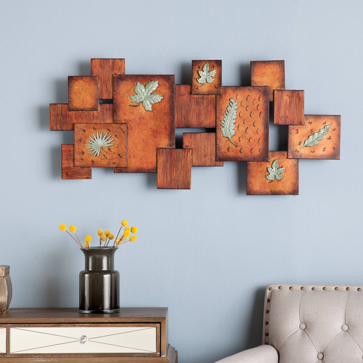 Southern Enterprises Fall Scene Wall Art