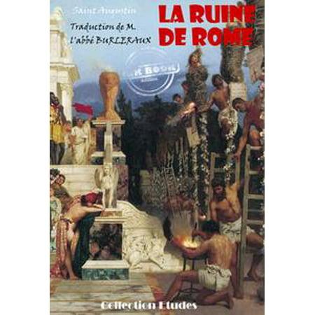 La ruine de Rome - eBook