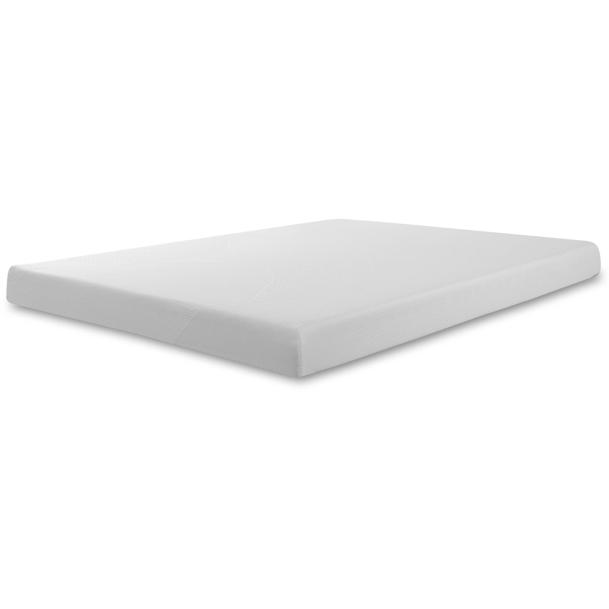 Spa sensation 6 39 39 memory foam mattress xl twin full queen for Ukuran box salon 8 inch