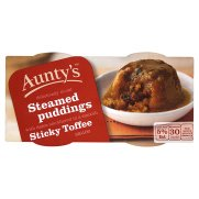 Auntys Sticky Toffee Pudding 110g