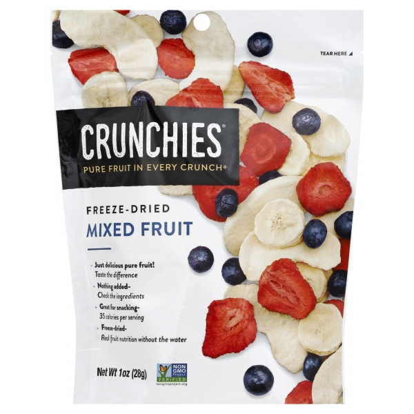 Crunchies Food Crunchies Mixed Fruit, 1 oz