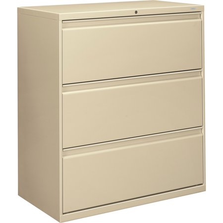 Hon Brigade Standard Height Pedestal (HON, HON883LL, Brigade 800 Series 3-Drawer Lateral, 1 Each, Putty )