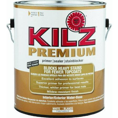KILZ Premium Water-Base Interior/Exterior Sealer Stain Blocking