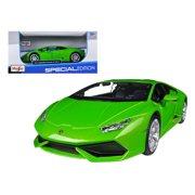 Lamborghini Huracan LP610-4 Green 1/24 Diecast Model Car by Maisto