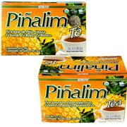 2 PACK Pinalim Pineapple Detox Tea 60 Day Supply Te Pinalim by GN+Vida- 2 Month Supply