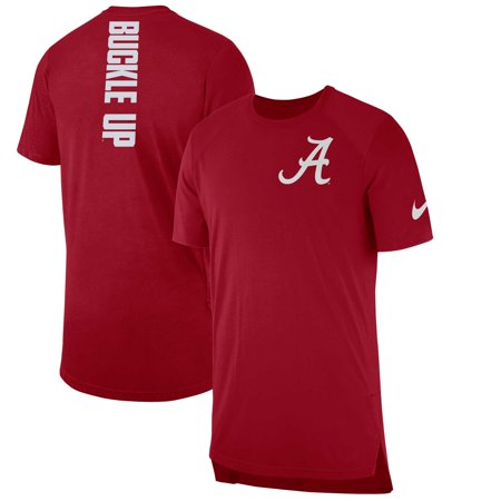 Alabama Crimson Tide Nike 2018 Elite Basketball On-Court Shooter Shirt -