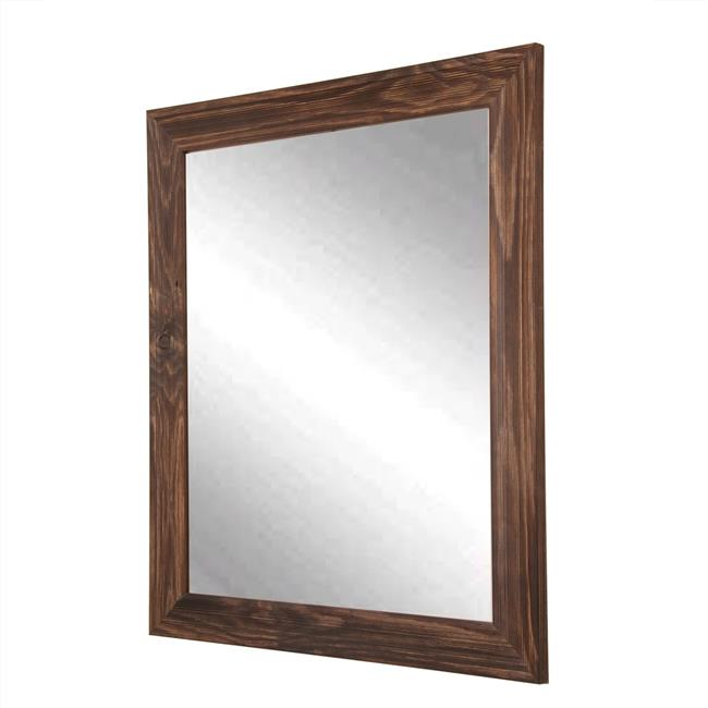American Made Rustic Espresso Framed Vanity Wall Mirror 31.5 x 40.5 in.  BM017M3 - image 1 de 1