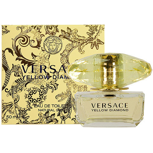 Versace Yellow Diamond Eau de Toilette Spray, 1.7 fl oz