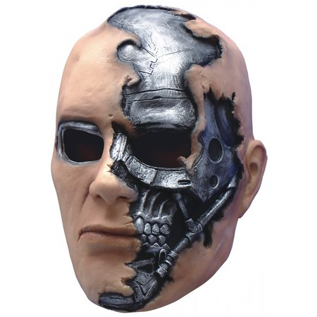 Terminator Mask (T-600 Terminator Mask Child Costume)