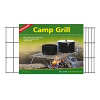 Coghlan's Camp Grill, Heat up a meal or grill food in a pan, boil water, and brew coffee over a campfire on top of this freestanding camp grill By Coghlans