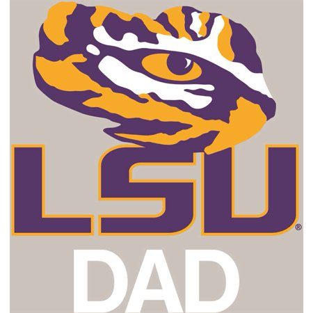 - LSU Tigers Transfer Decal - Dad