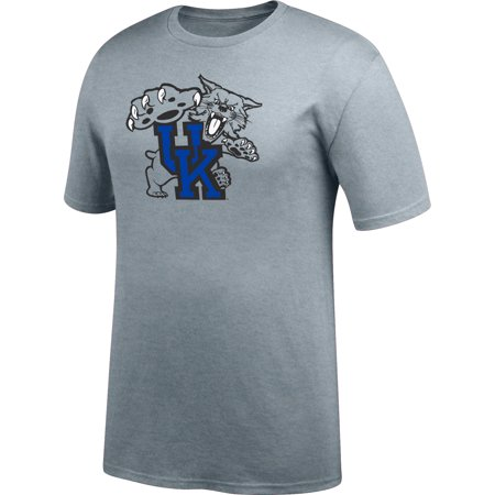 Men's Gray Kentucky Wildcats Secondary Logo T-Shirt - Kentucky Wildcats Tee