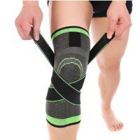 0ae41d521a Product Image 3D Weaving Knee Brace Breathable Sleeve Support for Running  Jogging Sports 1pcs