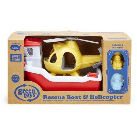Best Green Toys Rescue Boat and Helicopter deal
