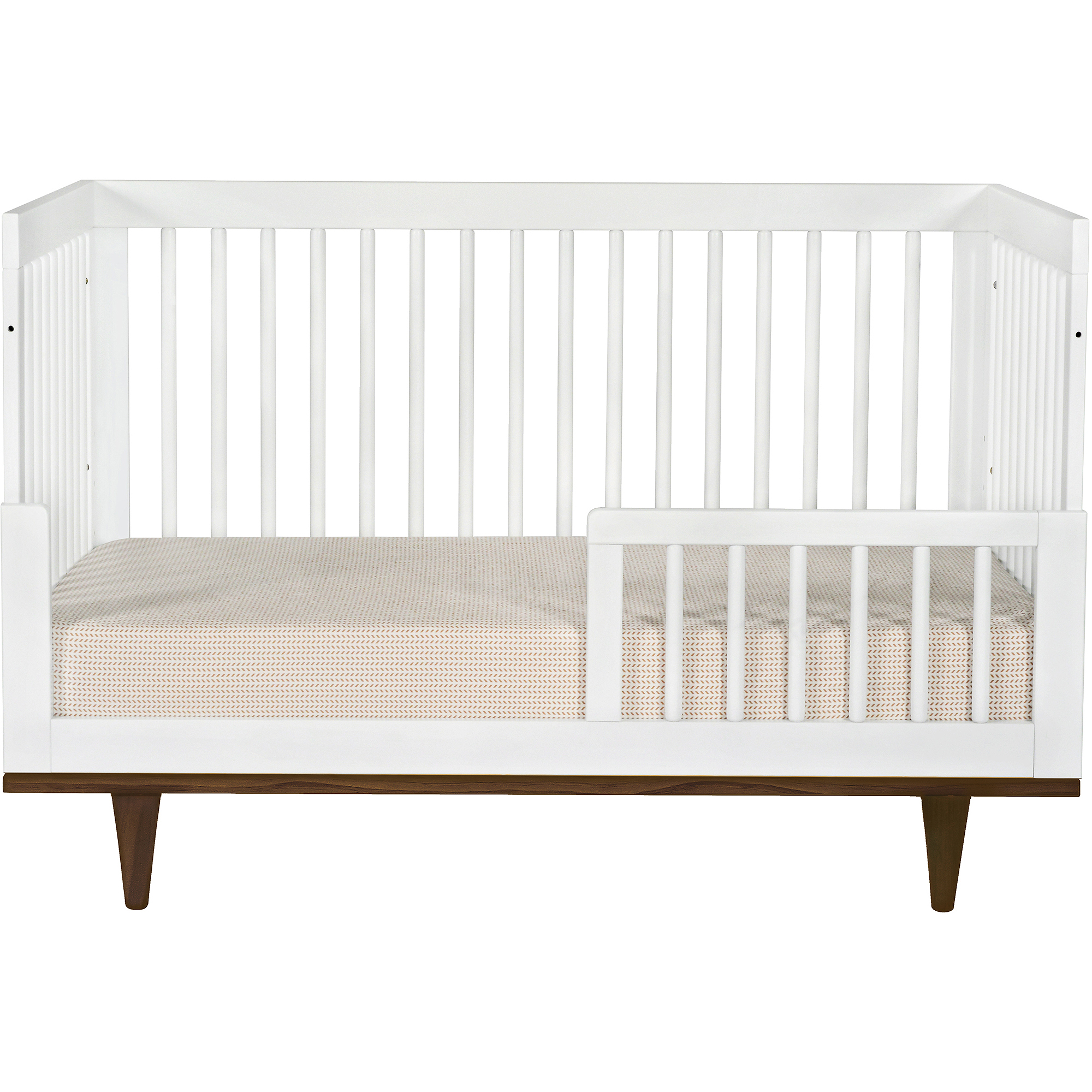 baby mod marley in convertible crib white and natural  - baby mod marley in convertible crib white and natural  walmartcom