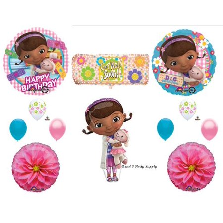 Doc McStuffins BANDAID Happy Birthday PARTY balloons Decorations Supplies by Anagram