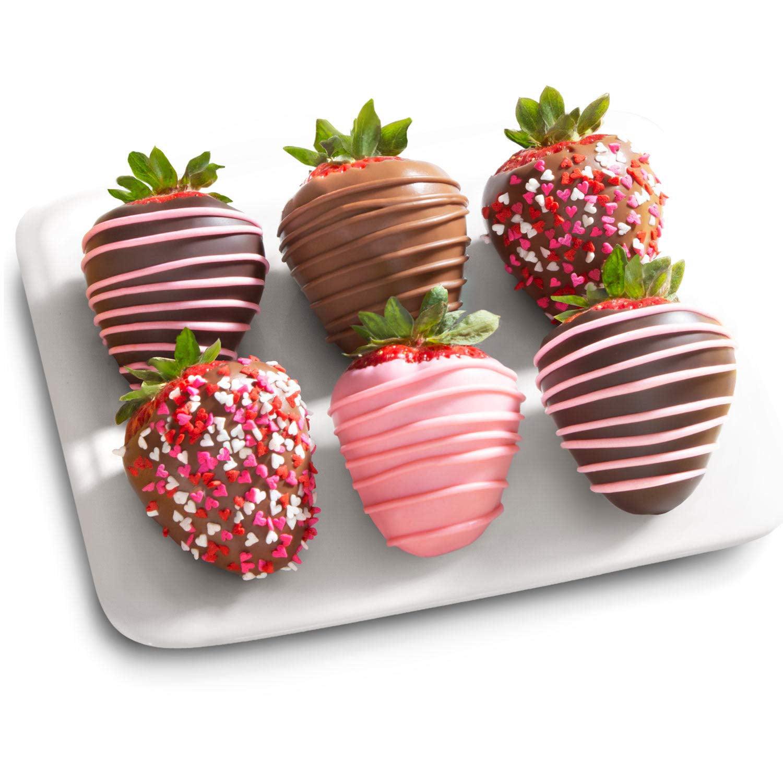 6 Love Berries Mothers Day Chocolate Covered Strawberries Walmart Com Walmart Com