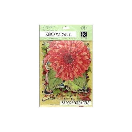 K&Co Die Cut Cardstock SW Meadow