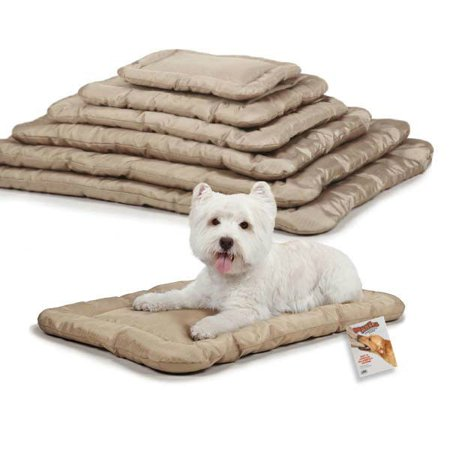 Heavy Duty Chew Resistant Crate Mats for Dogs Reinforced Megaruffs Dog Beds (xSmall - 17¾