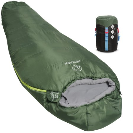 - REDCAMP Mummy Sleeping Bag for Backpacking,Lightweight Portable Camping Hiking Sleeping Bag for Adults