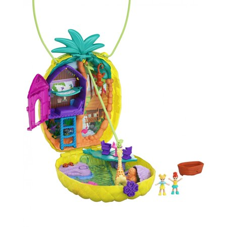 Polly Pocket Tropicool Pineapple Purse Fanny Pack Playset