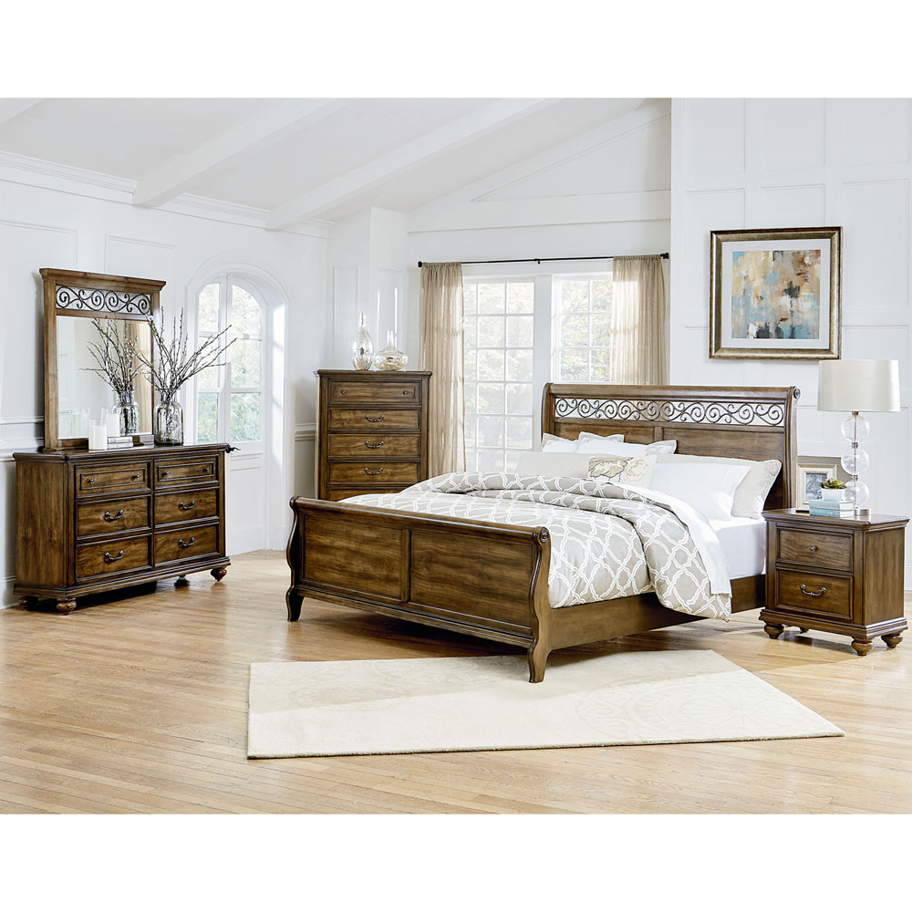 cambridge flemington 5 piece king size bedroom suite. Black Bedroom Furniture Sets. Home Design Ideas