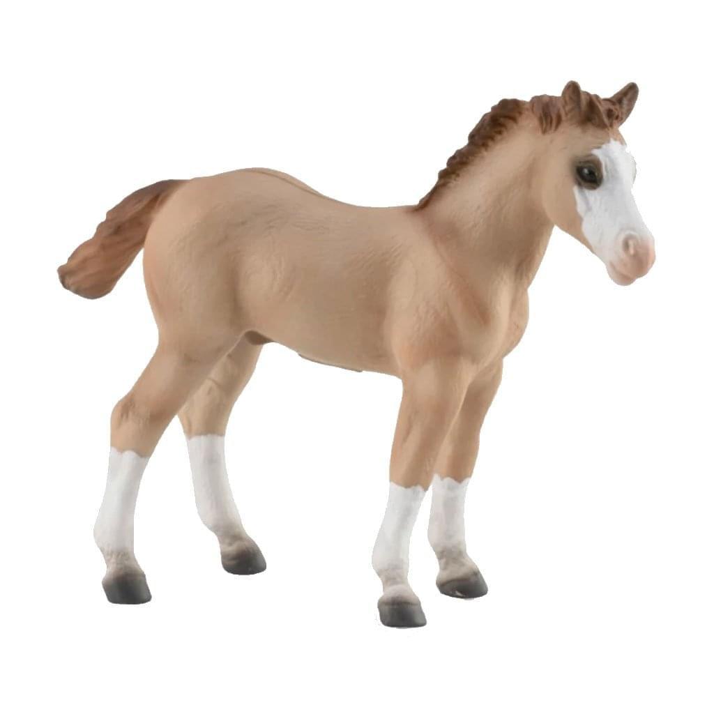 Breyer CollectA 1/18 Model Horse - Red Dun Quarter Foal - image 1 of 1