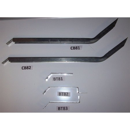 Owens Products 10-1241 OWE10-1241 15-17 TRANSIT 130IN WHEEL BASE BRACKET KIT GALVENIZED MUST ORDER BOARDS SEPARATELY Wheel Bracket Kit