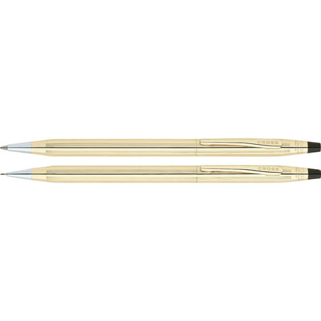 Cross Classic Century Ballpoint Pen & Pencil Set, 10 Kt. Gold Filled (Slim Pen And Pencil Set)