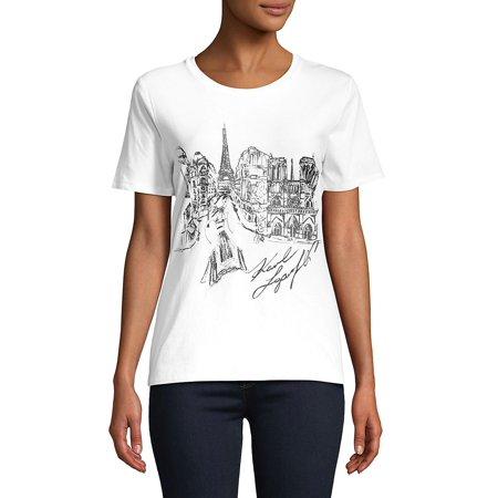 Sketch Paris Tee (Karl Lagerfeld Online Shop)