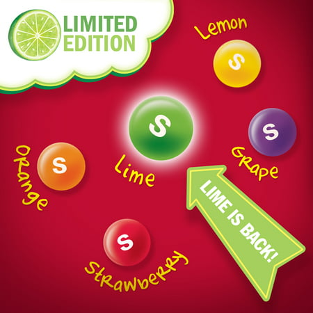 Skittles Long Lost Lime Chewy Candy, 14 Oz  - Best Skittles