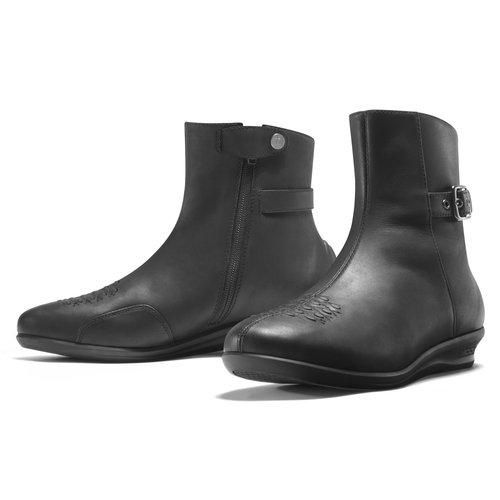 Icon Womens Sacred Low Leather Boots Black 6.5