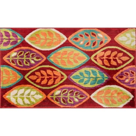 "Loloi Isabelle 2'2"" x 5' Power Loomed Rug in Red - image 1 de 1"