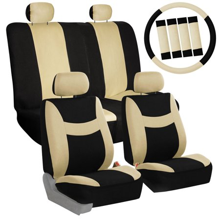 6 Colors Car Seat Covers For Sedan SUV Truck Split Bench Full