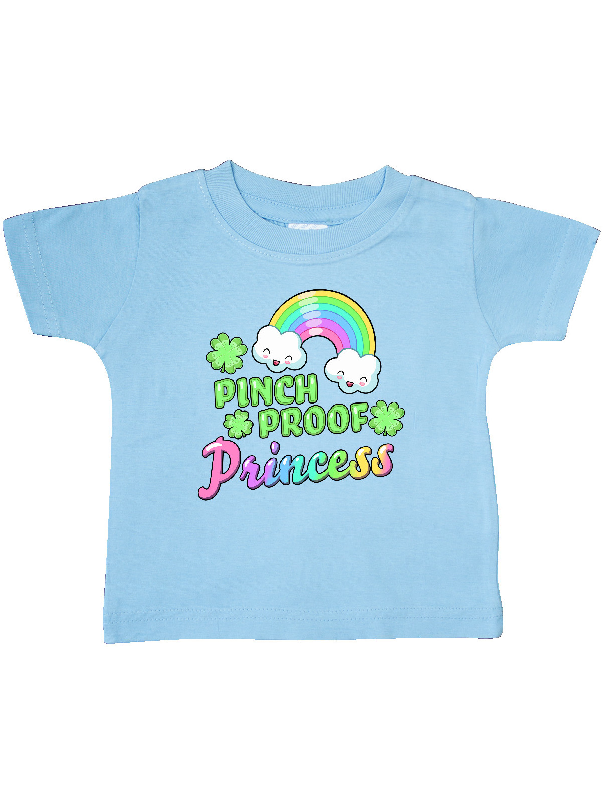 inktastic St Patricks Day Pinch Proof Princess Toddler Long Sleeve T-Shirt