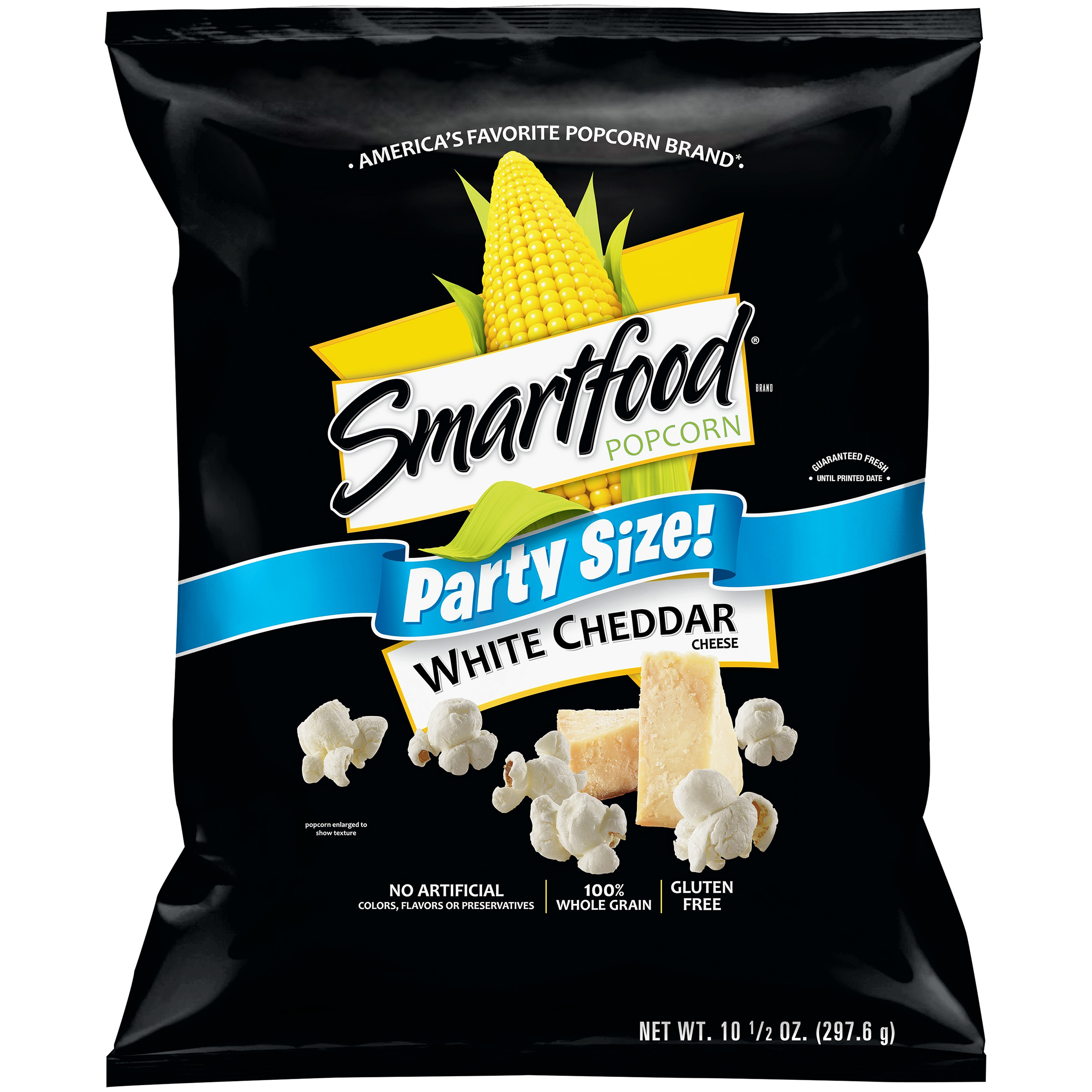 Smartfood White Cheddar Cheese Popcorn, Party Size, 10.5 oz. Bag