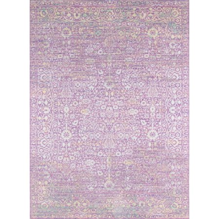 Momeni Petra Polyester Machine Made Lavender Area Rug 9' X 12'