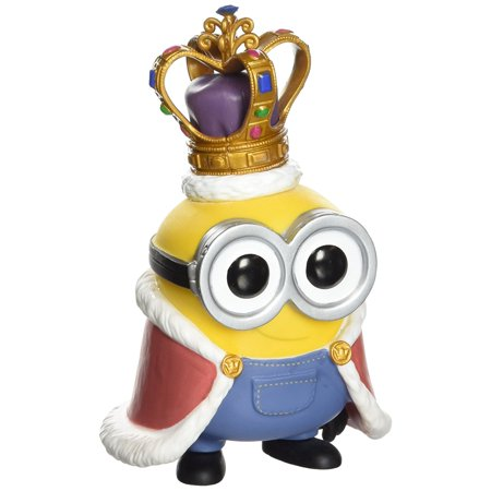 Pop Movies Minions King Bob Minion Vinyl Figure  Silly Lovegood Burgers Louise Sleeve Eye Item Womens Funko King Bob Shirt Crow Hannibal Potter Short    By Funko