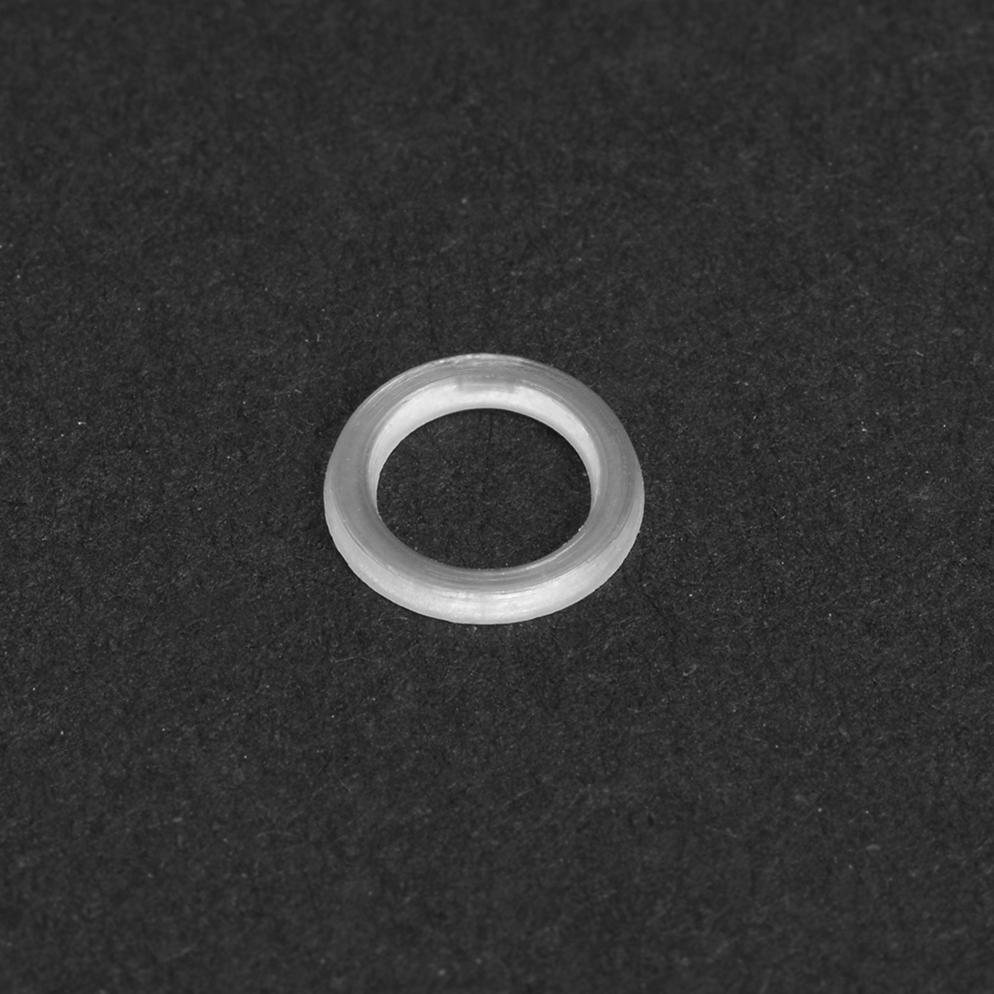 Nylon Flat Washers for M5 Screw Bolt 7.5mm OD 1mm Thick Clear 100PCS - image 2 of 4