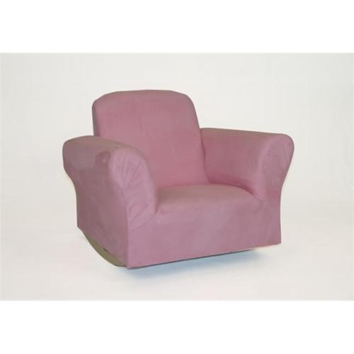 Kids Rocking Chair, Pink Micro