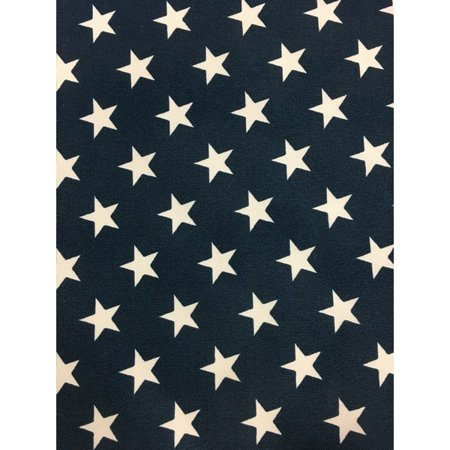 Jordan Manufacturing Outdoor Fabric By The Yard, Stars (Star Manufacturing Star)