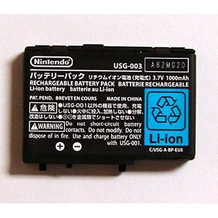 New OEM Original Nintendo DS Lite NDL NDSL USG-003 USG-001 Battery