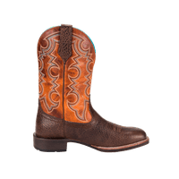 Noble 65026-132 Mens All Around Cowboy Brown Pumpkin Boot 11.5 E US