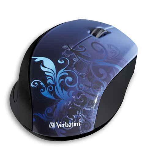 Verbatim 97785 97785 Wl Optical Blue Notebook Wrls Mouse